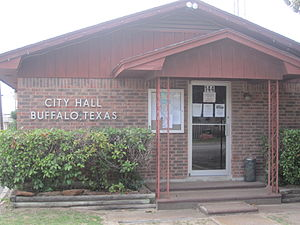 Buffalo, Texas - Buffalo City Hall