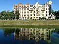 Building and Reflection along Canal - Kharkiv (Kharkov) - Ukraine (43260869924).jpg