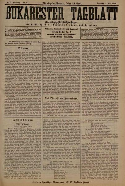 File:Bukarester Tagblatt 1910-05-01, nr. 097.pdf