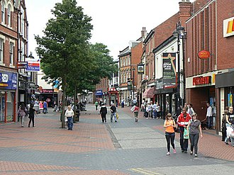 Bulwell - Image: Bulwell Main Street, looking north geograph.org.uk 1465743