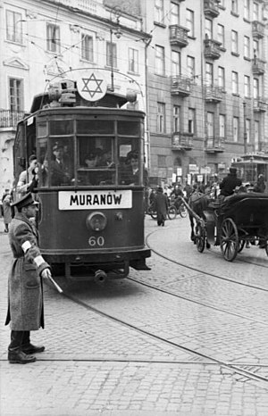 Jewish quarter (diaspora) - The Warsaw Ghetto in May 1941.