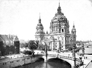 1905 in architecture - Berlin Cathedral around date of completion