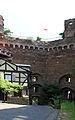 Burg Schönburg Oberwesel, innere Mantelmauer der Kernburg.jpg