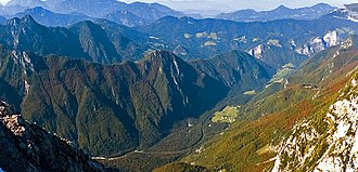 Logar Valley (Slovenia) - View from above