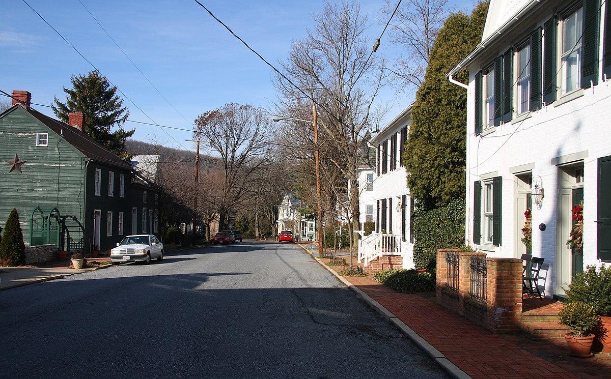 Burkittsville Maryland Wikipedia