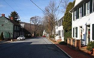 Main Street in Burkittsville