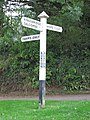 Burton, Galmpton, signpost - geograph.org.uk - 727186.jpg
