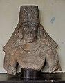 Bust of Vishnu with Kirit Mukut - Gupta Period - Jamalpur - ACCN 80-22 - Government Museum - Mathura 2013-02-23 4979.JPG