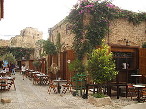 Byblos - The old souk in Byblos, Lebanon