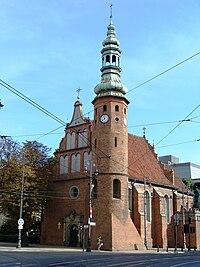 Bydgoszcz, kościół klasztorny klarysek, ob. par. p.w. Matki Boskiej Wniebowziętej, 1582 b.JPG