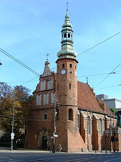 Church in Bydgoszcz, Poland