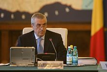 Călin Popescu-Tăriceanu at a government meeting(2).jpg