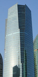 One Lujiazui skyscraper in Shanghai, China