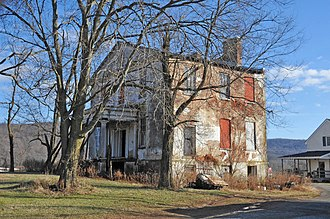 Carters Run Rural Historic District - Clover Hill, a house in the district