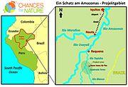 CFN Übersichtskarte Schatz am Amazonas