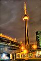 CN Tower in orange in tribute to Jack Layton.jpg