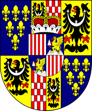 Philipp Gotthard von Schaffgotsch - Bishop Gotthard CoA.