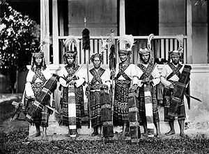 Minahasan people - Minahasa Warriors.