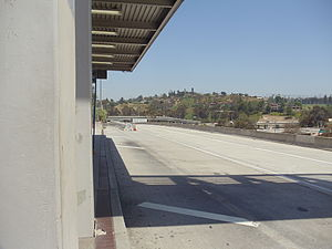 Cal State LA station - Image: CSULA Metro Silver Line Station 3