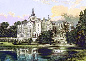 Adare Manor - Painting of Adare Manor, 1879