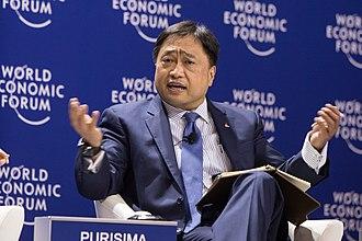 Cesar Purisima - Finance Secretary Cesar V. Purisima at the World Economic Forum on East Asia 21 April 2015.