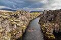 Cañón Nikulasargja, Parque Nacional de Þingvellir, Vesturland, Islandia, 2014-08-16, DD 048.jpg