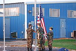Cadets raising the flag at Wittman Regional Airport, Wisconsin.jpg