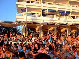 Cafe Del Mar Ibiza Sunset Bar
