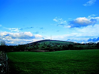 Cairn Hill transmission site - Image: Cairn Hill 3