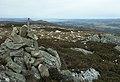 Cairn above Glac Dhubh nan Dearcag - geograph.org.uk - 1030447.jpg