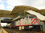 Caltrain JPBX 910 at Millbrae Station.JPG
