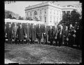 Calvin Coolidge and group outside White House, Washington, D.C. LCCN2016893178.jpg
