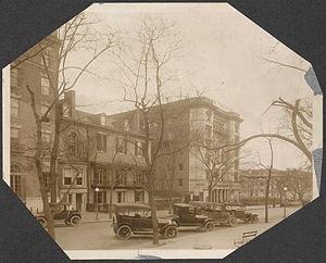 Lafayette Square Opera House - The Belasco Theatre (right), c. 1916