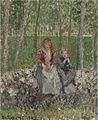 Camille Pissarro - Paysannes sous les arbres à Moret - 1430.jpg