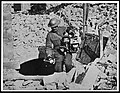 Canadian leaving a hole in Cambrai with some rare souvenirs (4688602674).jpg
