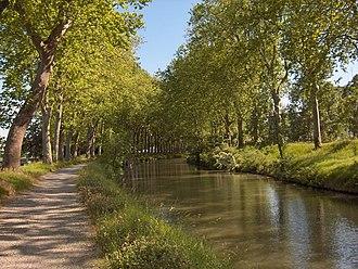 Pôle de recherche et d'enseignement supérieur - Image: Canal Du Midi(CC)Vigneron