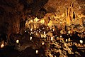 Candle light inside the Luray Caverns - panoramio.jpg