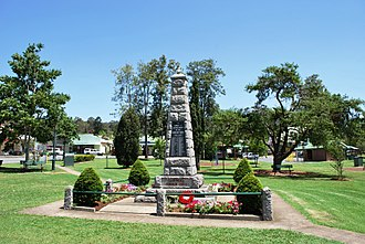 Canungra, Queensland - Canungra War Memorial, 2008