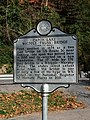 Capon Lake Whipple Truss Bridge Historical Marker Capon Lake WV 2014 10 05 04.jpg