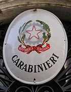 Carabinieri sign.jpg