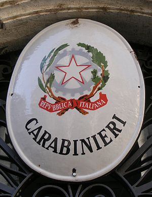 "English: ""Arma dei Carabinieri"" (Ita..."