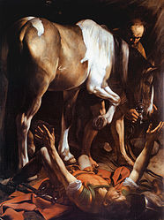 Caravaggio: Conversion on the Way to Damascus