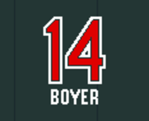 Ken Boyer - Image: Cards Retired 14
