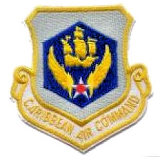 United States Air Forces Southern Command - Caribbean Air Command (1946–1963) Emblem