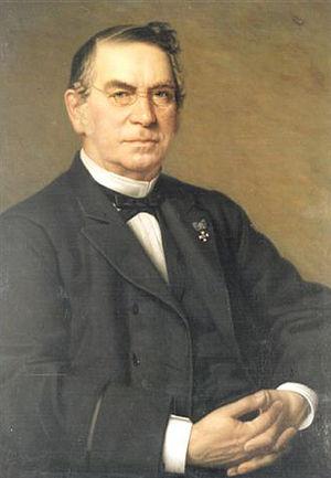 Carl Leverkus - Portrait of Carl Leverkus, painted in 1888 by Heinrich Johann Sinkel (1835-1908)