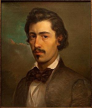 Carlo Brioschi - Self Portrait (c.1850)