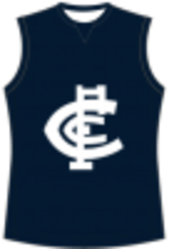Loddon Valley Football League - Image: Carlton Football Guernsey