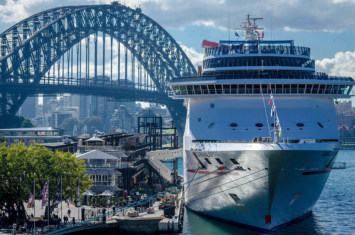 Carnival Spirit Wikipedia - Cruise ship movements sydney harbour