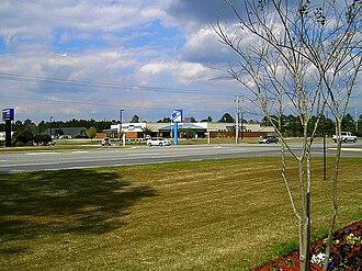 Carolina Forest Boulevard - Carolina Forest Boulevard at Postal Way in Carolina Forest, South Carolina