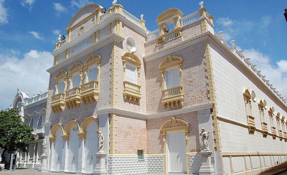 Cartagena de Indias exterior del Teatro Heredia